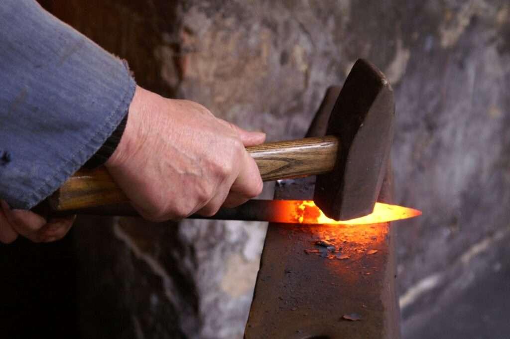 The Art Of Hammering – Blacksmith Hammer