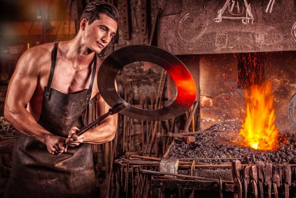 5 types of Blacksmith Tongs