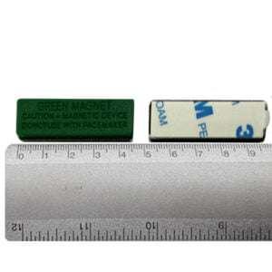 Badge Holder Green